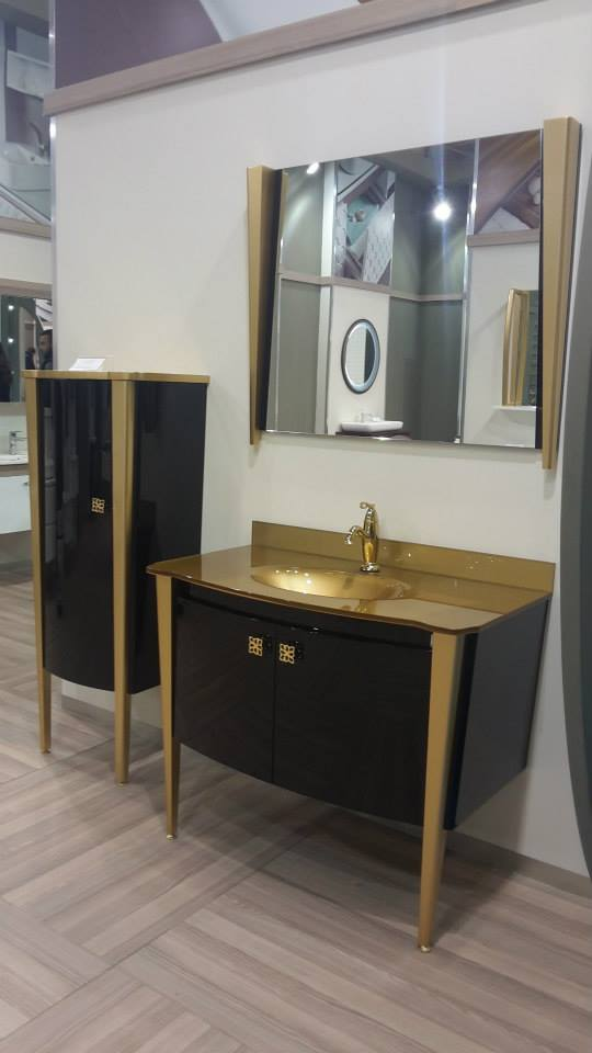 Vetrola Glass Wash Basin was at Unicera 2015 Fair